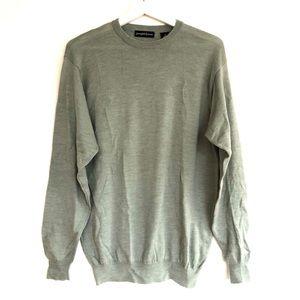 Oversized Boyfriend Merino Wool Crewneck Sweater